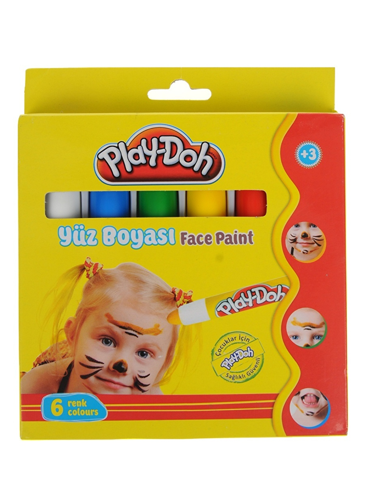Play Doh Unisex çocuk Yüz Boya Renkli Morhipo 13798651